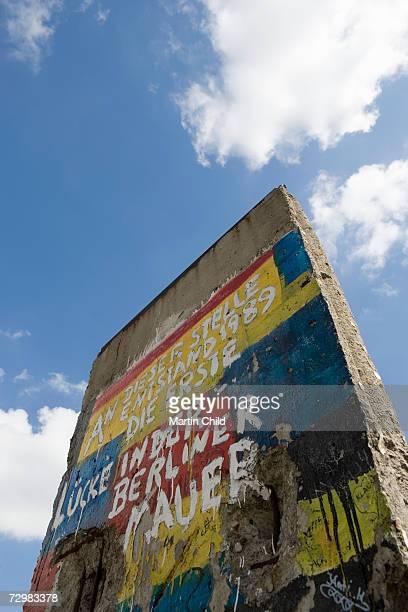 Germany, Berlin, Berlin Wall, low angle view