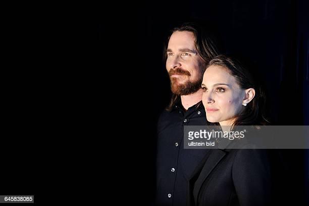 Germany/ Berlin/ Berlinale/ Photo-Call zum Film Knight of Cups, im Grand Hyatt Hotel. - Natalie Portmann und Christian Bale