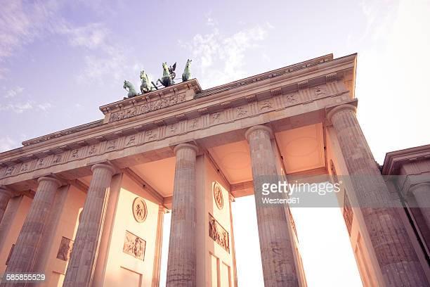 Germany, Berlin, Berlin-Mitte, Brandenburg Gate, Quadriga