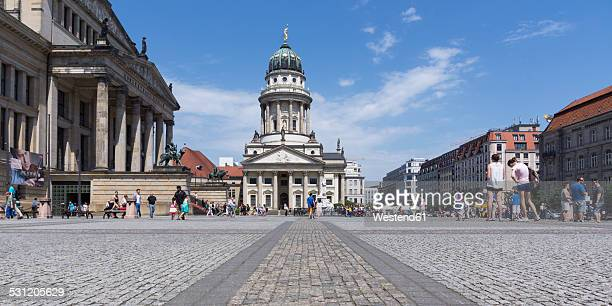 Germany, Berlin, Berlin-Mitte, Gendarmenmarkt, French Cathedral