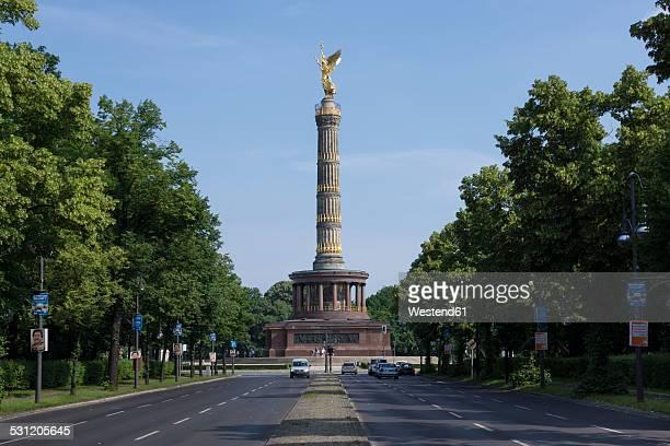 Germany, Berlin, Berlin-Tiergarten, Great Star, Berlin Victory Column