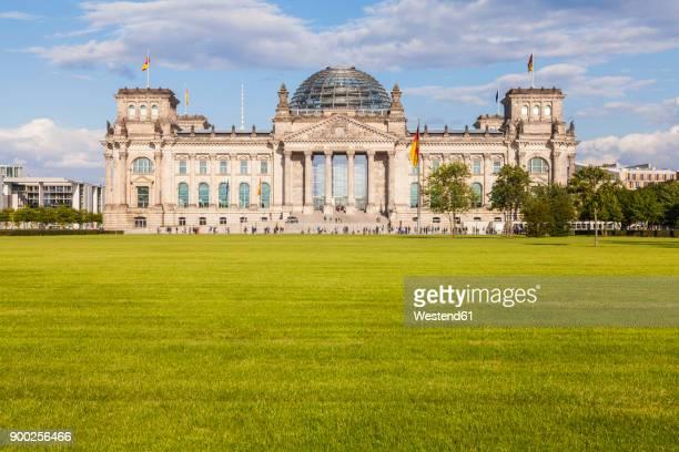 Germany, Berlin, Berlin-Tiergarten, view to Reichstag