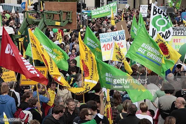 DEU Germany Berlin Big demonstration against nuclear power