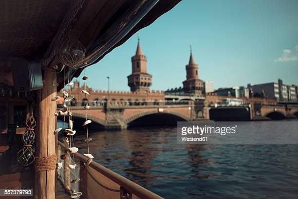 Germany, Berlin, boat on Spree River