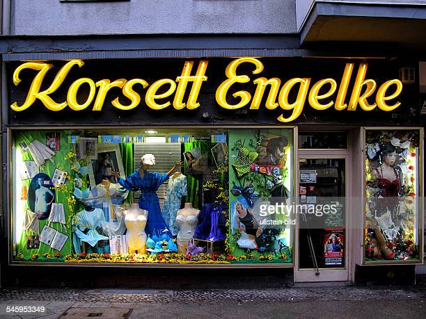 Germany Berlin Charlottenburg shop 'Korsett Engelke'