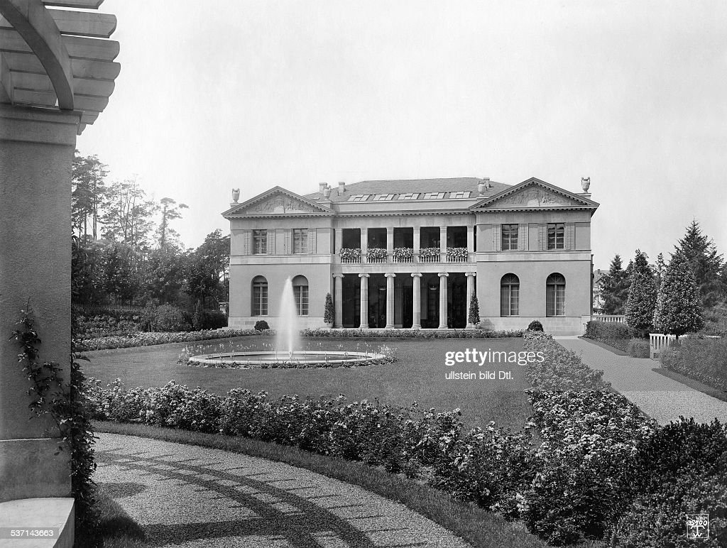 Villa Dahlem germany berlin dahlem villa harteneck 1913 taken by waldemar