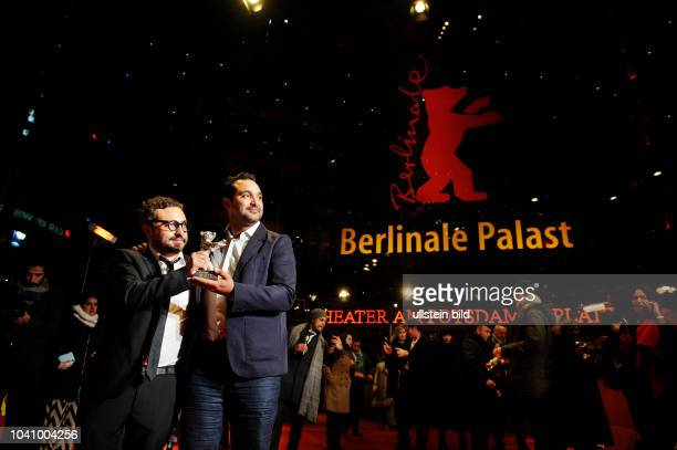 / Germany/ Berlin/ Die 68 Internationale Filmfestspiele Berlin am Potsdamer Platz Berlinale Preisverleihung im Berlinale Palast Alonso Ruizpalacios...