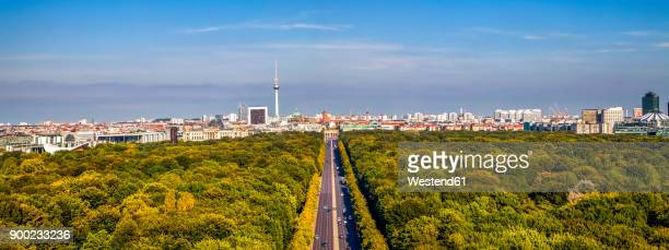 Germany, Berlin, elevated city view from victory column