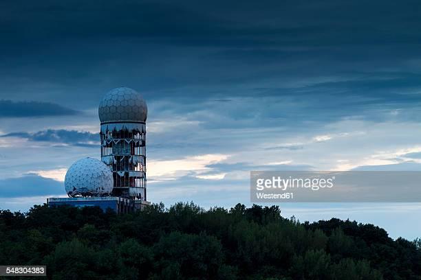 Germany, Berlin, former US-American communications intercept at Devils Mountain