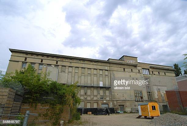 Germany Berlin Friedrichshain Club and event location Berghain