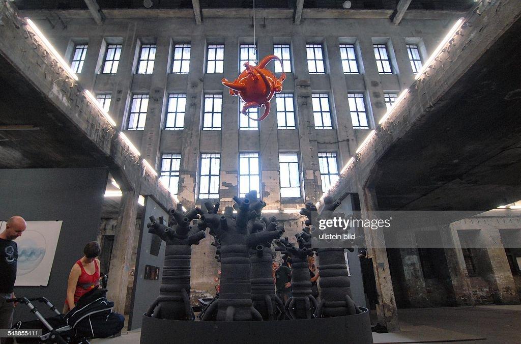 Germany Berlin Friedrichshain - exhibition ALLE Workkers
