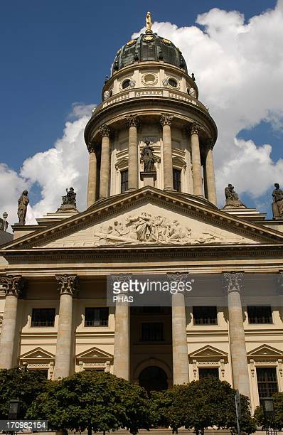 Germany Berlin German Church built in the 18th century by Karl Von Gontard and late 20th century rebuilt after its destruction in World War II Used...