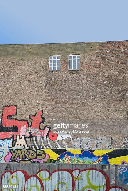 Germany, Berlin, Graffiti on wall