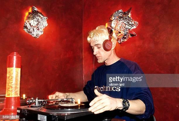 Hip Hop in Berlin Kreuzberg a russian DJ in the Mitte Bar