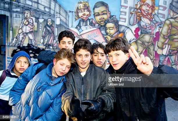 Hip Hop in Berlin Turkish youth in the streets Kreuzberg