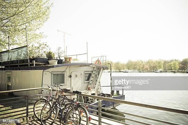 Germany, Berlin, house boat