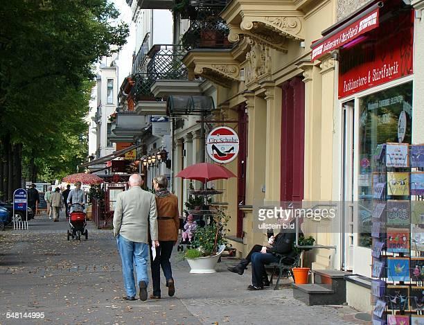 Germany Berlin Koepenick Boelschestrasse in Friedrichshagen