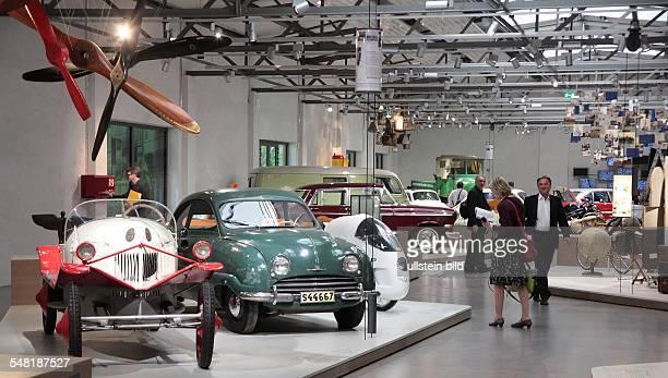 Germany Berlin Kreuzberg German Museum of Technology new permanent exhibition about traffic