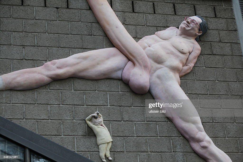 A huge penis