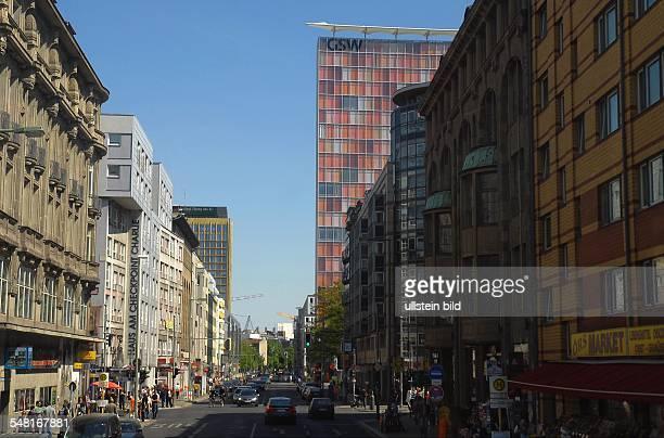 Germany Berlin Kreuzberg - Rudi-Dutschke-Strasse, former Kochstrasse