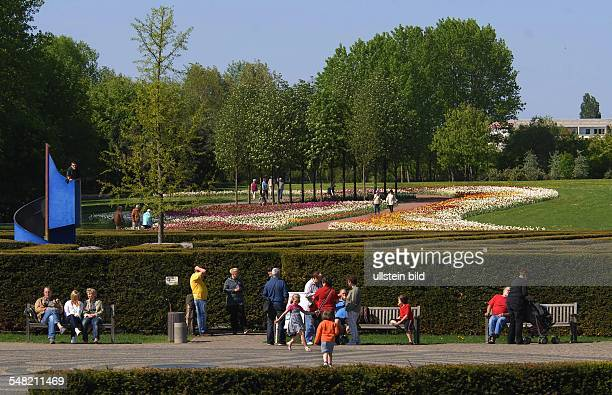 Germany Berlin Marzahn pleasure park Marzahn Gardens of the World Christian Garden