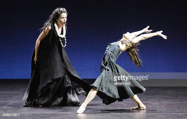 Germany Berlin 'Medea' by the Company Sasha Waltz Guests Caroline Stein as Medea