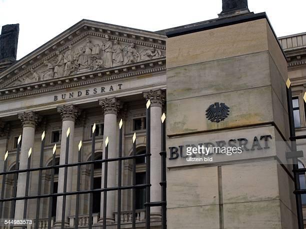 'Bundesrat' the Federal councilof the German Parliament