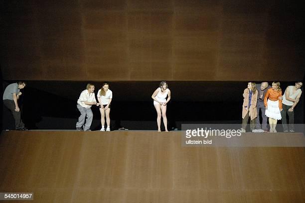 German Theatre Berlin plays The Rats by Gerhart Hauptmann directetd by Michael Thalheimer stage Olaf AltmannPremiere 06Oktober 2007actors Michael...