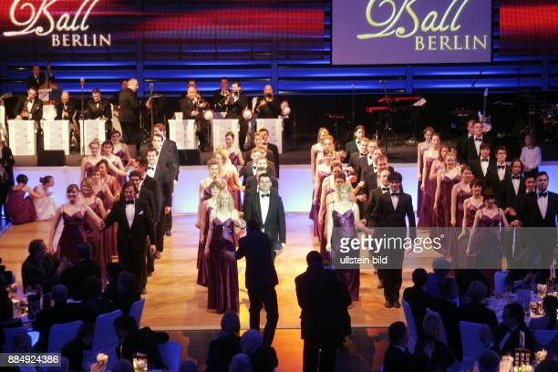 Germany Berlin Mitte opening dance during 112th Presseball in the Ullstein Halle in