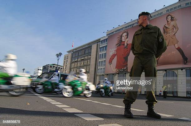 Germany Berlin Mitte - pol. State visit of the Turkish president, security measures