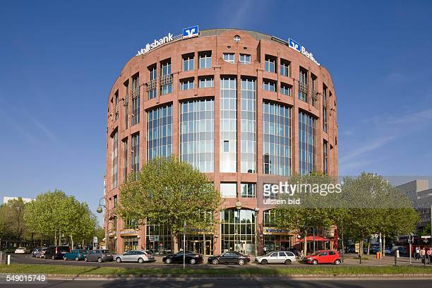 Germany Berlin Mitte the banking house 'Berliner Volksbank' at the street 'Budapester Strasse'