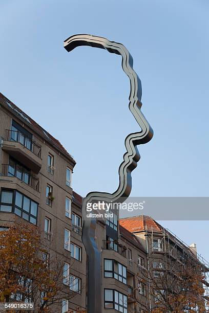 the new momorial for Georg Elser in the street Wilhelmstrasse