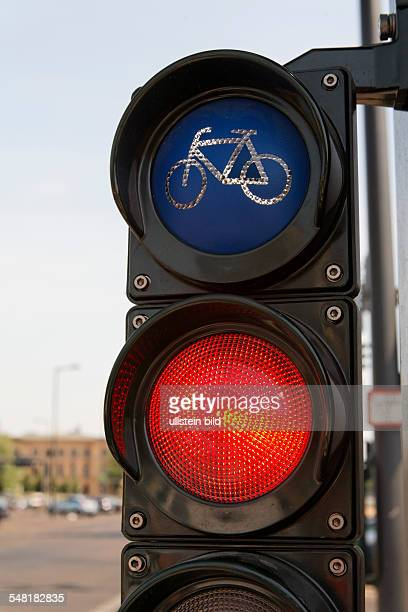 Germany Berlin Mitte traffic light for bicyclist