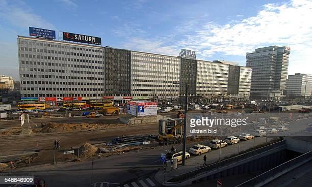 Germany Berlin Mitte - underground parking at Alexanderplatz
