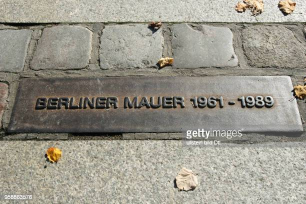 Wall Memorial at Bernauer Strasse in Berlin Remains of the Berlin Wall Some original parts of the Berlin Wall that are displayed here to explain the...