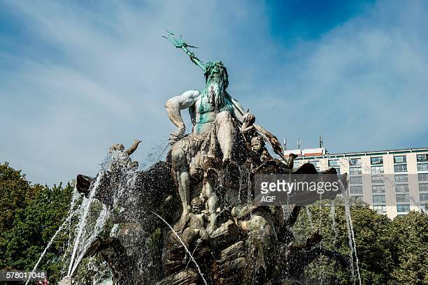 Germany Berlin Neptune Fountain