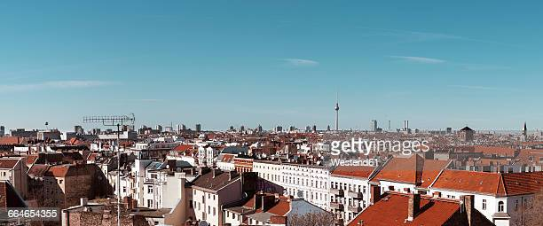 Germany, Berlin, panoramic city view with television tower