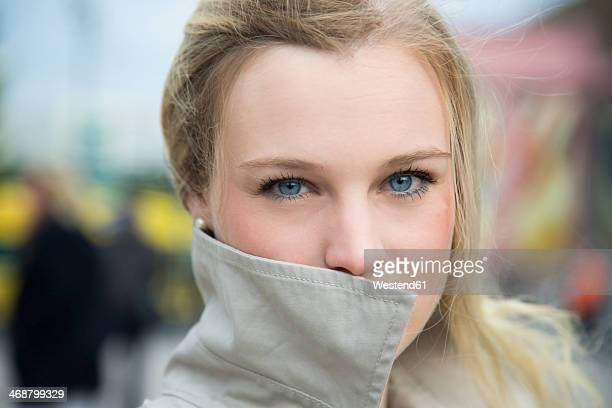 Germany, Berlin, Portrait of a blond woman