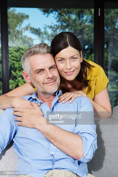 Germany, Berlin, Portrait of mature couple, smiling