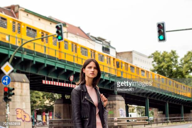Germany, Berlin, portrait of young woman