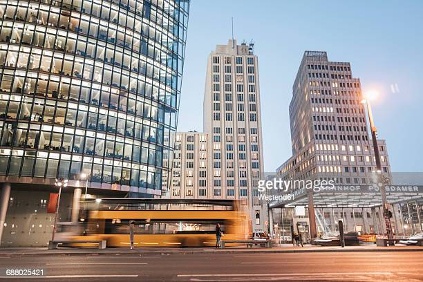 Germany, Berlin, Potsdamer Platz in the evening
