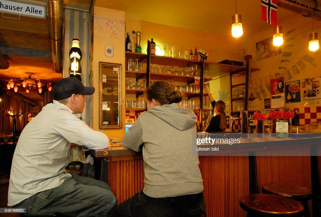 Germany Berlin Prenzlauer Berg Bar Voelkerfreundschaft In The