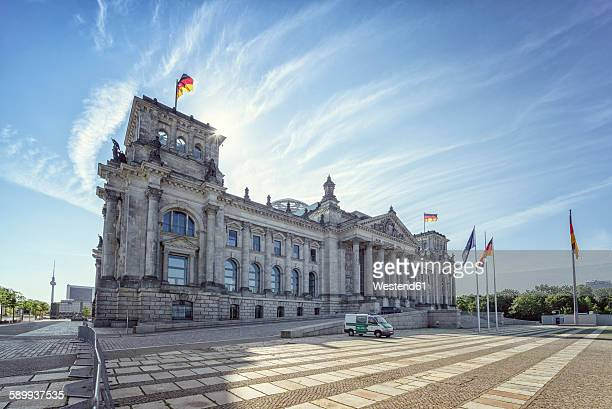 Germany, Berlin, Reichtstag Building