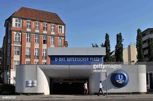 Germany Berlin Schoeneberg - subway station Bayerischer Platz