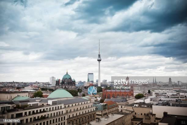 Germany, Berlin, Skyline with TV Tower