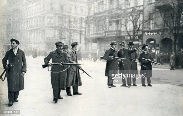 Germany Berlin Sparticist uprsiringThe Spartacus League was a Marxist revolutionary movement organized in Germany during World War I The League was...