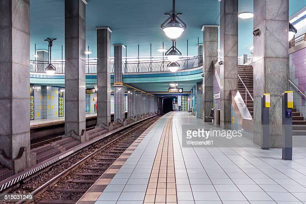Germany, Berlin, subway station Lindauer Allee