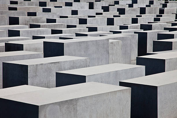 Germany, Berlin, The Holocaust Memorial.