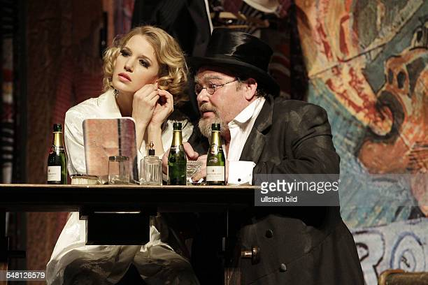 Germany Berlin - 'Theater am Kurfuerstendamm', play: The Blue Angel by Peter Turini adapted from Thomas Mann, Josef von Sternberg; directed by Claus...