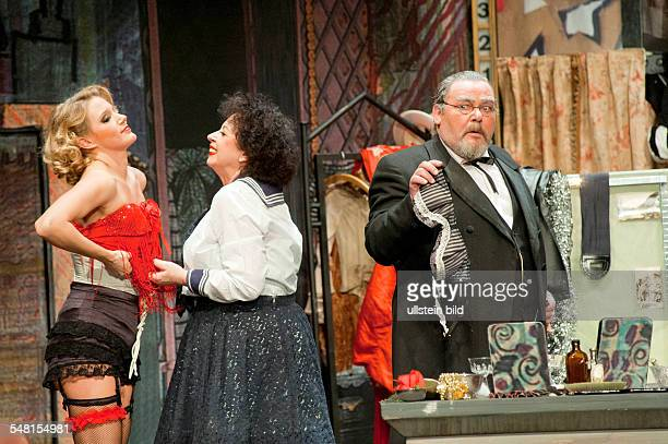 Germany Berlin - Theater am Kurfuerstendamm, play: The Blue Angel by Peter Turini adapted from Thomas Mann, Josef von Sternberg; directed by Claus...